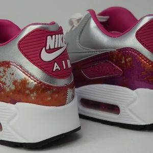 Nike Air Max 90 PRM QS Women's shoe 744596 001 New NWT